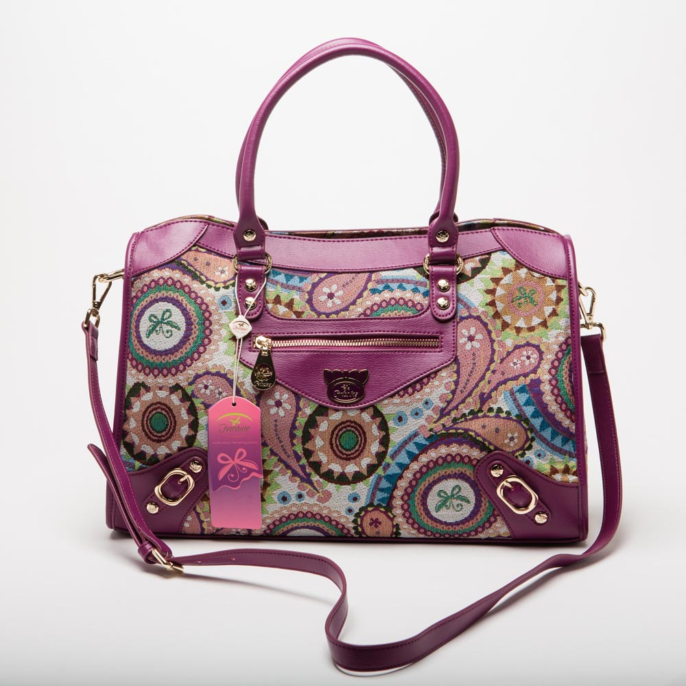 Fricaine Princess Demi Exotic Satchel Bag
