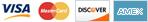 VISA | MasterCard | Discover | AMEX